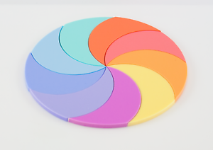 5ff287a9aa8 Details about PASTEL ACRYLIC CIRCLE DISC PLASTIC PERSPEX SHEETS, 3mm SATIN  & GLOSS 100mm-900mm