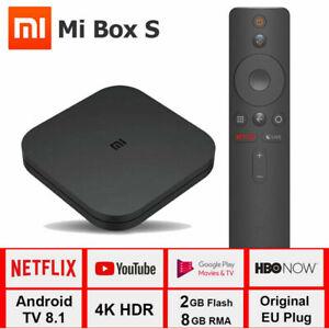 Xiaomi Mi TV BOX S Android 8.1 Quad Core 2+ 8GB 4K WiFi Smart Media Player ES
