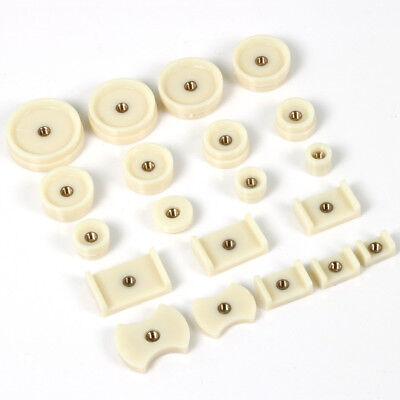 20 X Druckplatten für Gehäuseschließer Uhrenschließer Einpresswerkzeug Uhrmacher