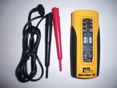 IDEAL VOL-CON XL Voltage//Continuity Tester 61-086 NEW