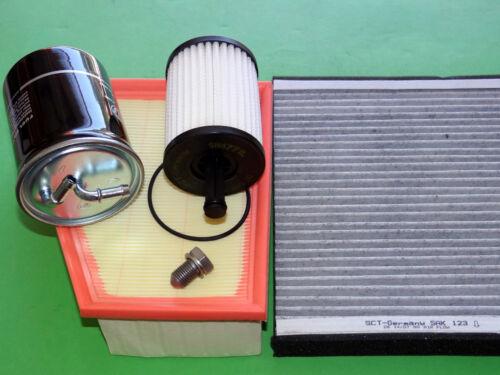 1.4TDI 51kW//70PS 5Z Ölfilter Luftfilter Kraftstofffilter Pollenfilter VW Fox