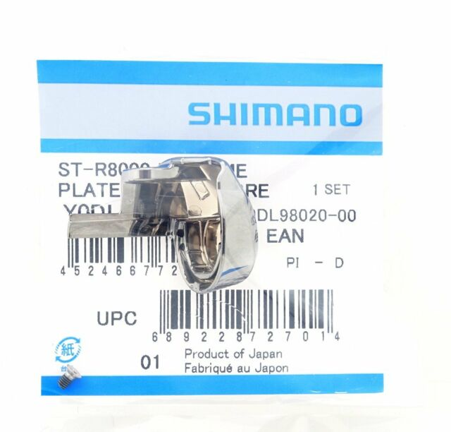 Shimano Ultegra ST-R8000 Lever Name Plate Right Left /& Fixing Screw