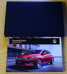 vauxhall astra k owners manual handbook wallet 2015 2017 latest rh ebay com vauxhall astra g owners manual pdf vauxhall astra owners manual 2001