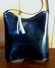 NEW WITH TAGS COCCINELLE Handbag in Black - MADE IN ITALY!!