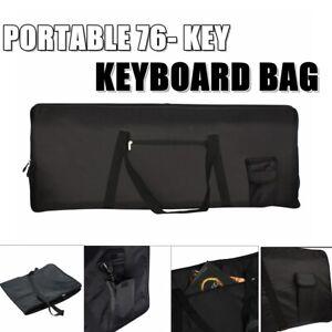 HEAVY-DUTY-Portable-76-Key-Keyboard-Electric-Piano-Padded-Case-Gig-Bag-Cloth