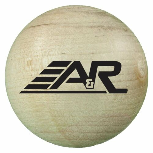A/&R Sports Wood Stick Handling Ball
