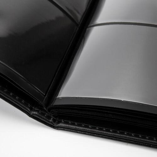 60 poches cuir souple Notes Album de banque billets collection d/'argent livre