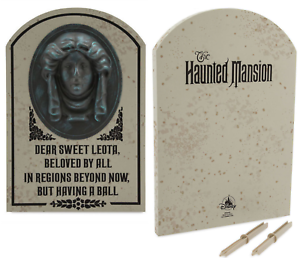 Details About Disney Parks Madame Leota Tombstone Decoration Haunted Mansion Halloween Yard