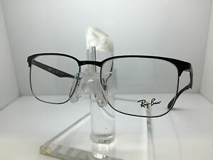 964e7d4d49 Image is loading RAY-BAN-RX-6363-2861-52MM-SILVER-TOP-