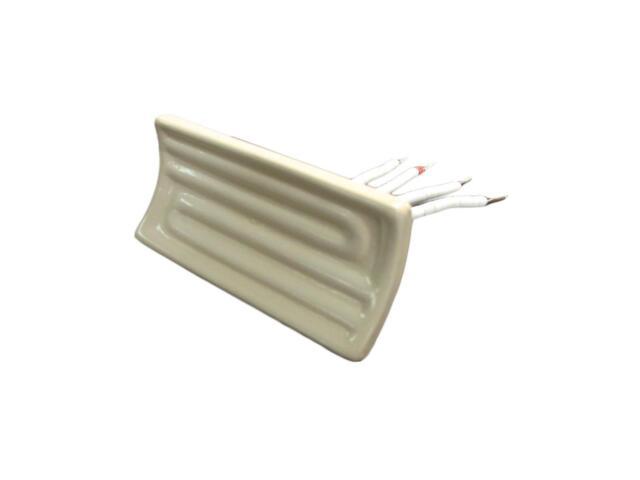 "9.6*2.4"" Ceramic Infrared Heater Elements 250//400//500//750//1000W 245*60 mm"