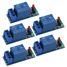5pcs 12v 1 Channel Relay Module Optocouple Board Shield For Pic Avr Dsp Arm Mcu