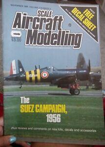 Scale-Aircraft-Modelling-Magazine-November-1984-The-Suez-Campaign-1956