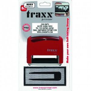 Details About Make Your Own Diy Rubber Stamp Self Inking Traxx 8053 Diy John Bull Style