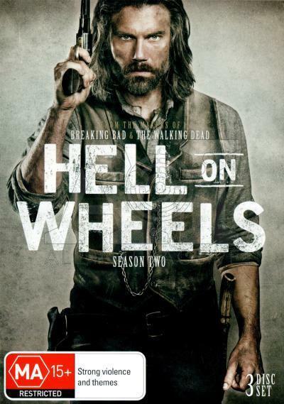 Hell On Wheels Season 2 Dvd Like new