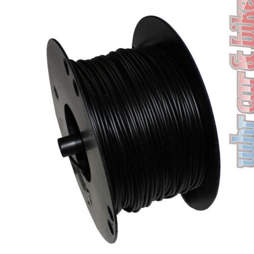 Hella KFZ-Kabel FLY Fahrzeugleitung 1,5 mm² schwarz Kupfer 1-adrig Meterware