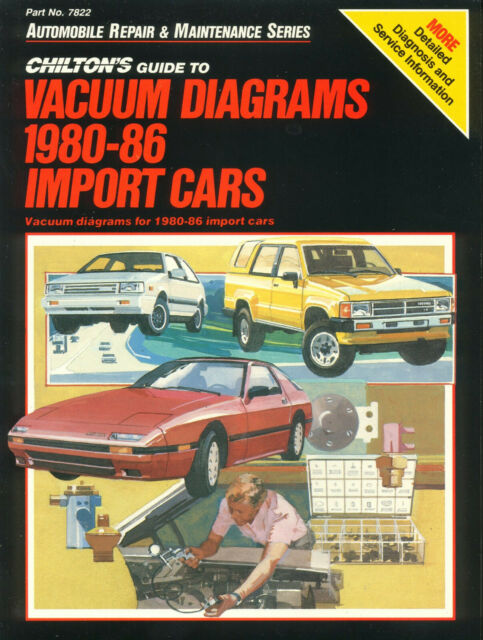 Chilton's Vacuum Diagram Manual 1980-1986 : Import Cars and Trucks by Chilton...