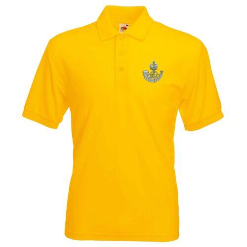 Durham infantería ligera Camisa Polo