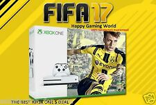 NEW XBOX ONE S LATEST 1TB CONSOLE+FIFA 17 GAME+1MONTH EA ACES+4K  ULTRA HD MODEL