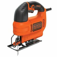 Black  Decker Jig Saw Machine Corded-Electric Cutter Wood Powerful 4.5 Amp Motor