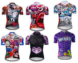 Simon/'s Cat Long Sleeve Cycling Jersey Retro Road Pro Clothing MTB