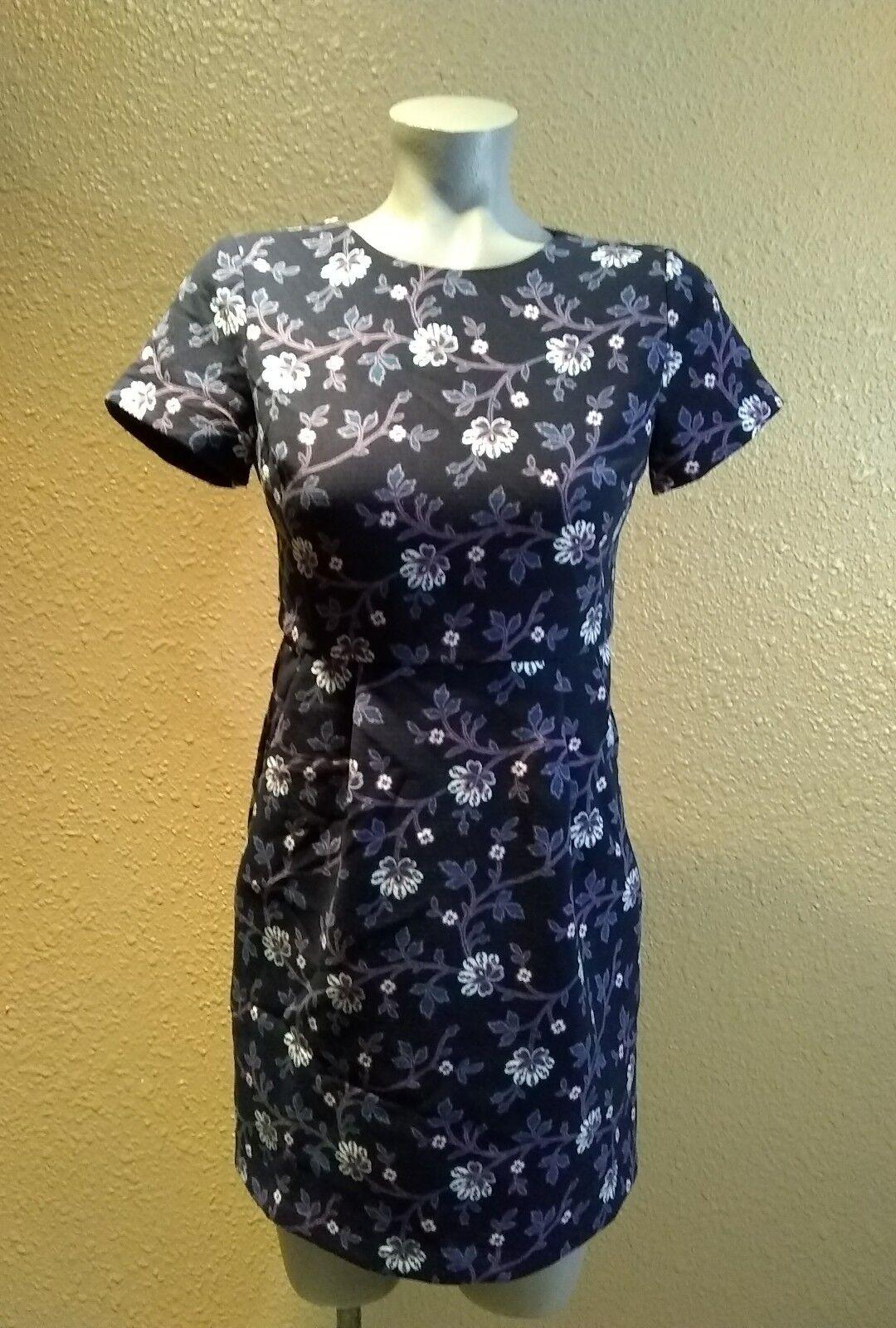 LOFT 0P dress floral on Blau New with tag