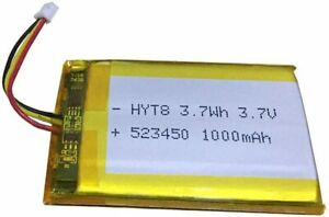 Details about 523450 Battery 1000mAh for Corsair Void Pro RGB Wireless Headset Battery Replace