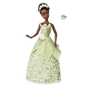 Disney-Tiana-Princesse-Classique-Poupee-Avec-Bague-Set-de-Jeux-30-CM
