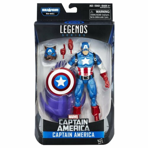 CAPITAN AMERICA Personaggi Deluxe 15cm MARVEL LEGENDS Series RED SKULL HASBRO