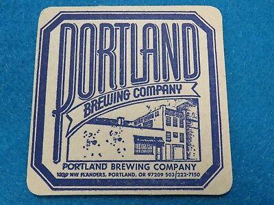 Bier & Bierdeckel Bier & Brauerei Ältere Bier Untersetzer ~ Portland Gär Co Ale ~ Geöffnet 1986 In Portland,oregon