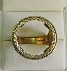 Vintage-9ct-Gold-Sovereign-Ring-Mount