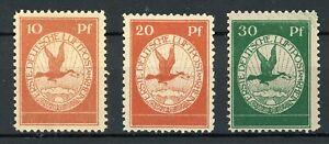 Deutsches-Reich-MiNr-I-III-mit-Falz-V620