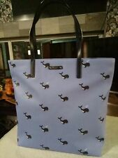 Whale Bon Shopper Kate Spade Off We Go Tote Bag Handbag Periwinkle