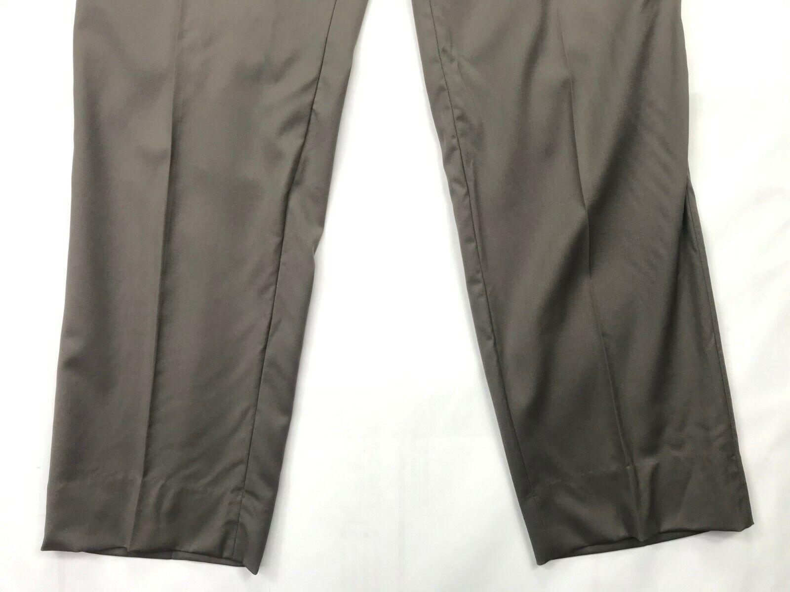 Mens Hugo Boss James Brown Dress PAnts SIZE 34R x… - image 3