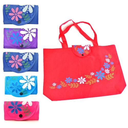 Foldable Handy Shopping Bag Reusable Tote Pouch Recycle Storage Handbag Portable