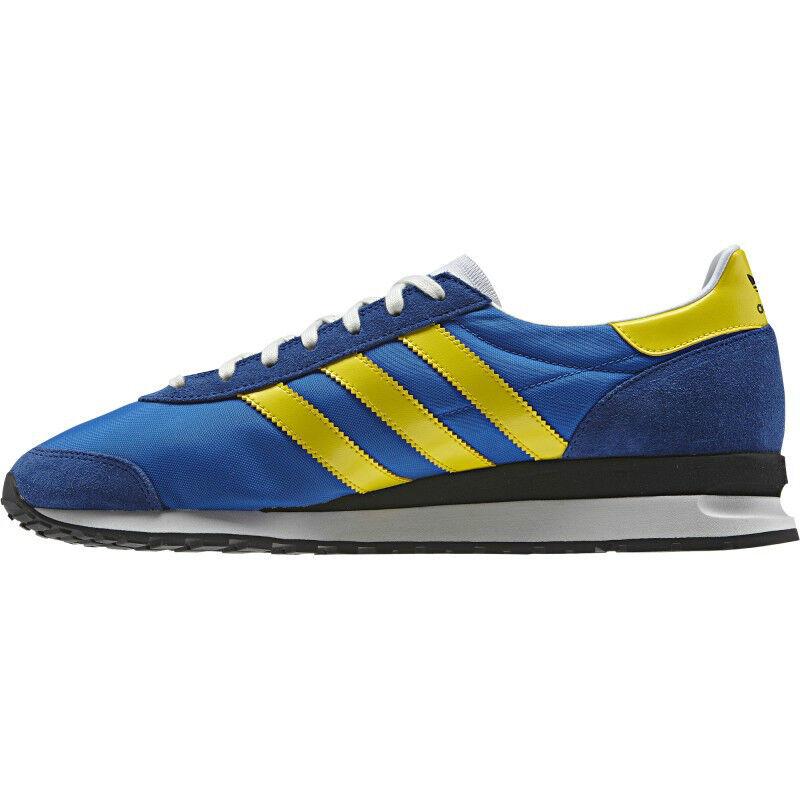adidas Originals Marathon PT 85 Men's Trainers Running Shoes Blue NEW US 10.5
