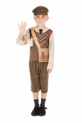 GUERRA MONDIALE 2 Scolaro Costume Libro Settimana Bambini Scuola 1940s Fantasia Abito Outfit