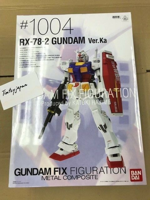 Gundam Fix Figuration Figuration Figuration Metal Composite RX-78 Ver. Ka  bandai NEW    7fdc58