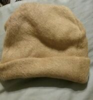 Avon Cozy Hat Cap Camel Brown So Very Soft In Bag