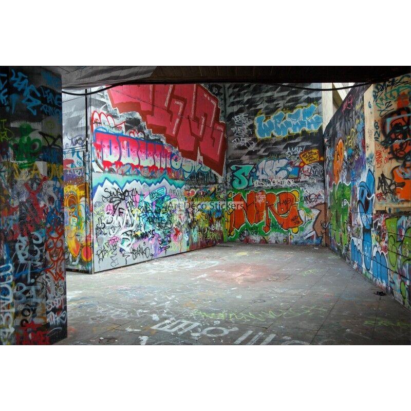 Stickers muraux muraux muraux géant déco : Graffitis Tag Street-art 1575 | Pas Cher  | Belle Qualité  | Une Grande Variété De Marchandises  b858ce