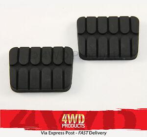 Brake-Clutch-Pedal-Pad-SET-for-Nissan-Navara-D21-D22-86-06
