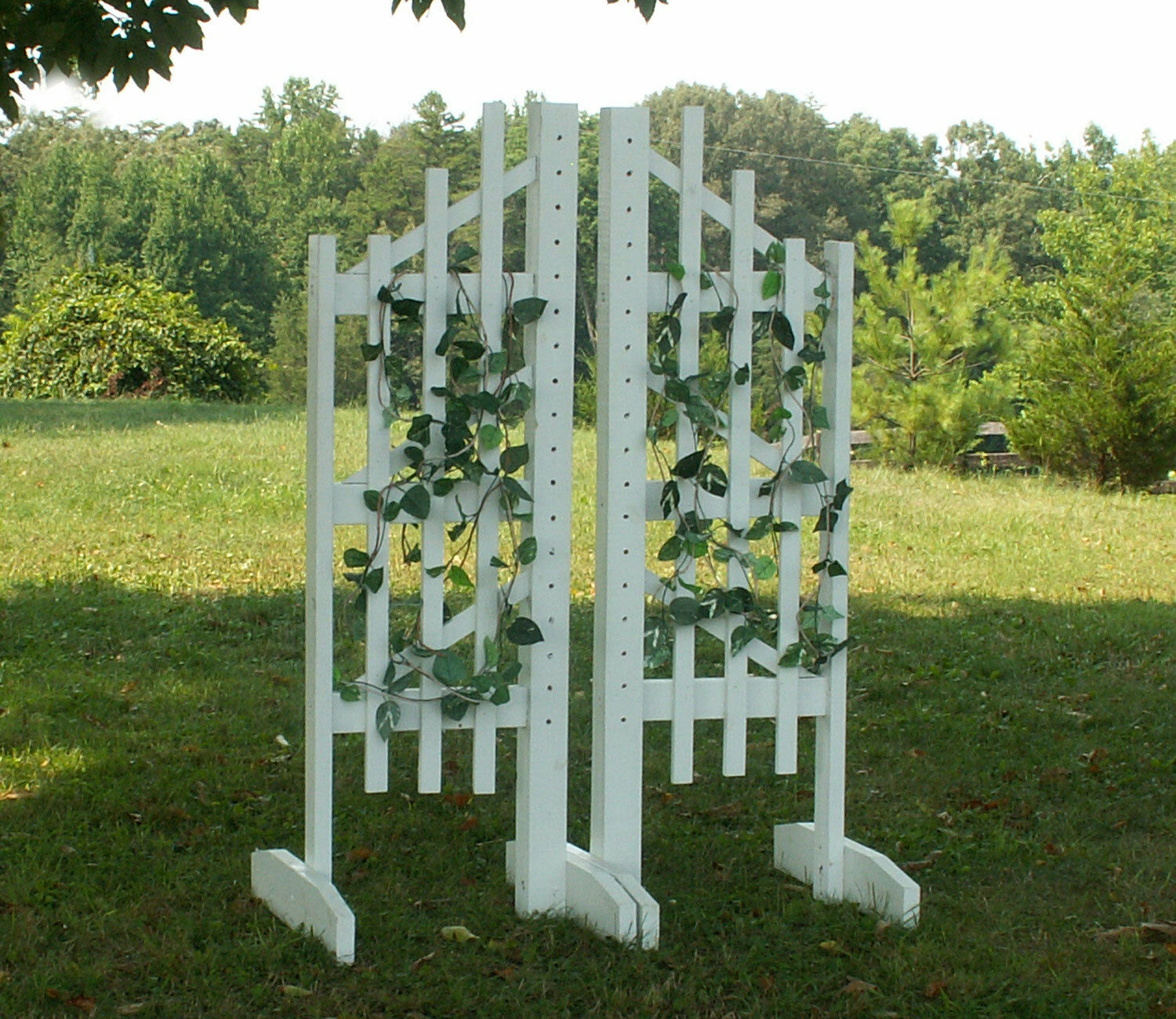 Horse Jumps Trellis Jumper  Wing Standards Pair 6ft  store online