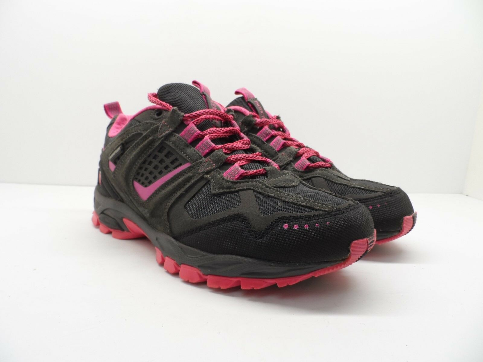 Pacific Trail Women's Gray Cinder Trail Running Shoe Gray Women's Pink Size 10M 280550