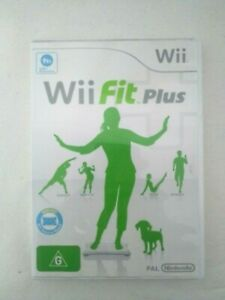 Wii-Fit-Plus-Nintendo-Wii-PAL-Complete-Manual-Included