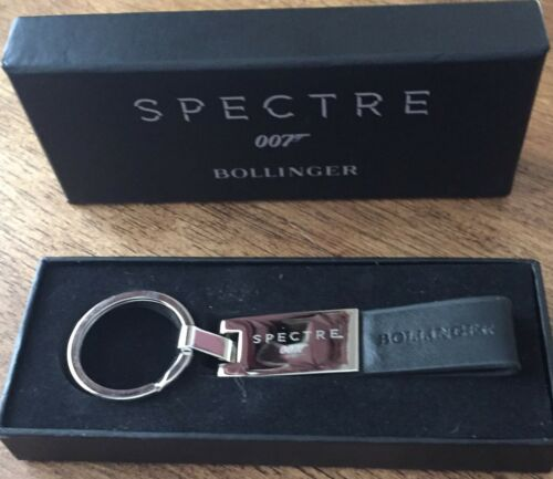BOLLINGER CHAMPAGNE JAMES BOND 007 SPECTRE KEYRING COLLECTORS ITEM RARE BOXED