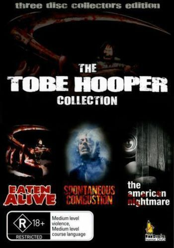 The Tobe Hooper Collection (DVD, 2007, 3-Disc Set) BRAND NEW SEALED