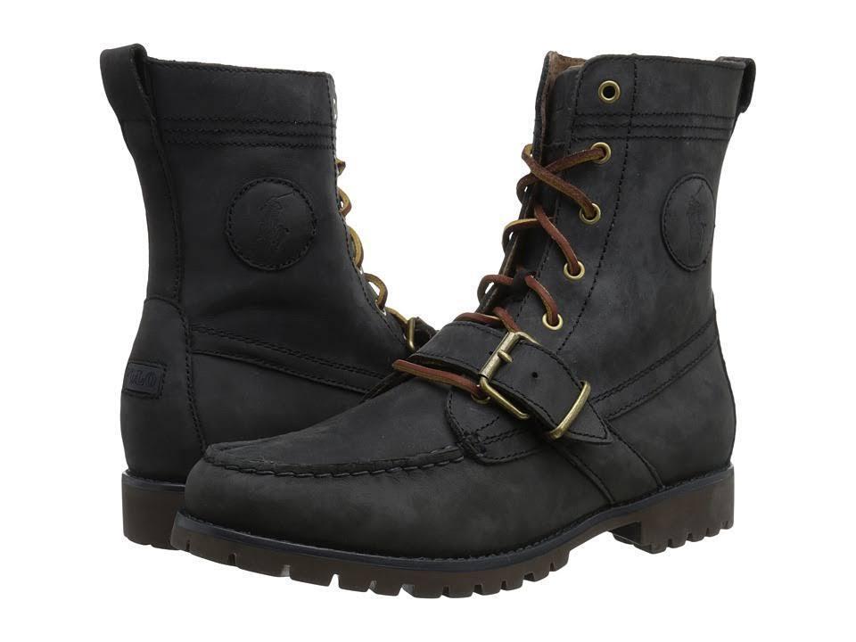 POLO RALPH LAUREN 812564395003 RANGER Mn's (M) Dark Slate Nubuck Classic Stiefel