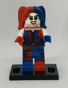 Set 76053 AUTHENTIC LEGO Super Heroes Harley Quinn MiniFigure Red /& Blue