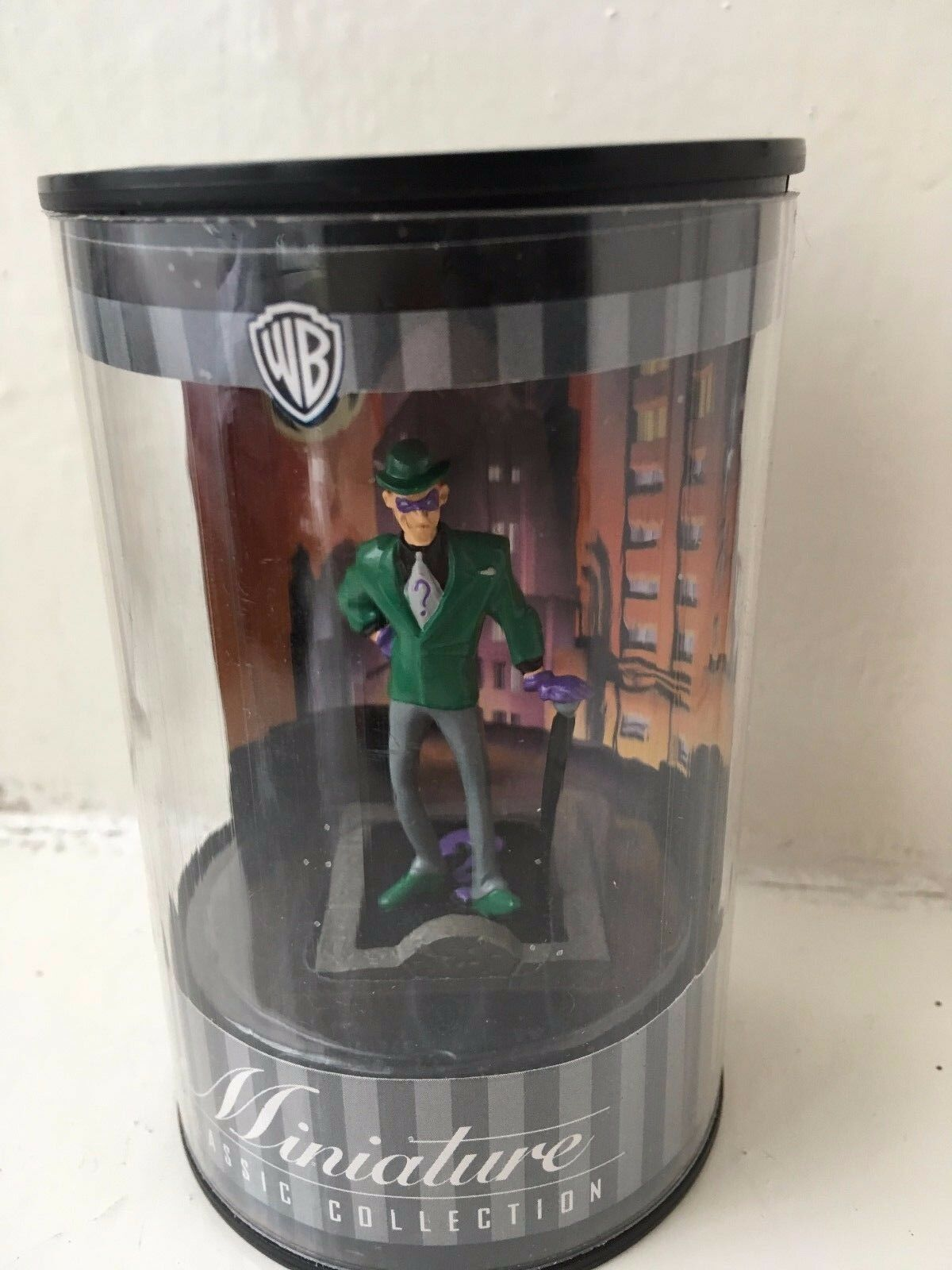 Warner bros miniatur - classic collection animierte der riddler figur batman