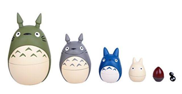 Studio Ghibli My Neighbor Totoro Matryoshka Hayao Miyazaki Japanese Anime Movie