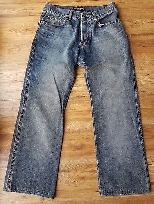 """** Raro ** Bellissima """"moschino"""" Designer Jeans Da Uomo Italiane. W32"""", L29""""-mostra Il Titolo Originale"""
